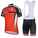 KEIYUEM® Biciklistička majica s kratkim hlačama Žene / Uniseks Kratki rukav BiciklVodootpornost / Prozračnost / Quick dry /