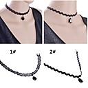 Jewelry Choker oglice / Ogrlice s privjeskom / Gotička Nakit Vjenčanje / Party / Dnevno / Kauzalni Čipka 1pc Žene Vjenčanje Pokloni