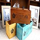 retro staré dřevo desktop kosmetické úložný box dřevěné pero vzdálený úložný box