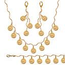 レディース - ヴィンテージ / キュート / パーティー / オフィス / カジュアル - ネックレス / ブレスレット / 指輪 ( ゴールドメッキ )