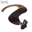 """neitsi 20 """"1 g / s 25s keratin fúze u špička hřebu rovné Ombre lidské prodlužování vlasů t2-8"""