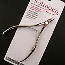 新しいステンレス鋼キューティクルニッパーカッター爪切りマニキュア完全な顎