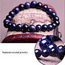 plave zvjezdano nebo prirodna pravi kristalno kamenje Tibetanski beaded cjedilu narukvica, uniseks nakit