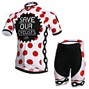 XINTOWN® Biciklistička majica s kratkim hlačama Uniseks Kratki rukav BiciklProzračnost / Quick dry / Ultraviolet Resistant / Könnyű