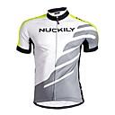 NUCKILY® Biciklistička majica Muškarci Kratki rukav BiciklProzračnost / Quick dry / Anatomski dizajn / Moisture Permeability / Prednji