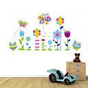 zidne naljepnice zidne naljepnice, stil sova i leptiri u cvijeće PVC zidne naljepnice
