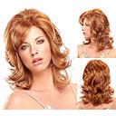 módní syntetické nebo africký Američan paruky dlouhé vlnité vlasy paruka pro ženy sexy přírodní paruky s Bangs sw0138