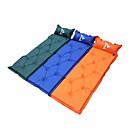 防湿 / 防水 / 通気性 / ビデオ圧縮 - 膨張式マット / キャンプパッド / スリーピングパッド / エアマット ( 盛り合わせ色 ) - ポリエステル