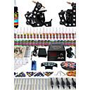 solong tetování kompletní tetování Kit 2 profesionální stroje 54 inkousty napájení pedálů jehly úchytky tipy tk256