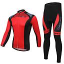 XINTOWN® Biciklistička majica s tajicama Uniseks Dugi rukav BiciklProzračnost / Quick dry / Ultraviolet Resistant / Lagani materijali /