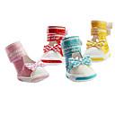 犬用品 シューズ、ブーツ ファッション レッド / ブルー / ピンク / イエロー 春/秋 PUレザー犬 靴