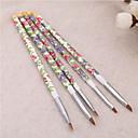 1Nastavte 5ks akryl uv gel nail art design set liniové malby tečkování kartáč pero stavitel pro akrylové