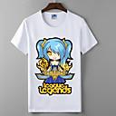 lol liga legendi vjetar djevojka skup serija cosplay t-shirt junaci sindikalne pamuk Lycra