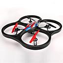 WL Igračke V666 Dron 6 OS 4 Kanala 2.4G RC quadcopterIzravna Kontrola / Flip Od 360° U Letu / Pristup U Stvarnom Vremenu Snimke /