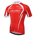 XINTOWN® Biciklistička majica Muškarci Kratki rukav BiciklProzračnost / Quick dry / Ultraviolet Resistant / Kompresija / Lagani