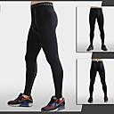 Pánské Běh Kalhoty Spodní část oděvu Prodyšné Rychleschnoucí Komprese Lehké materiály Ter Emen Jaro Léto PodzimJóga Pilates Fitness