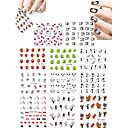 Crtani film / Lijep-3D Nail Naljepnice- zaPrst / nožni prst-6.5*5.2-11pcskom. -Other