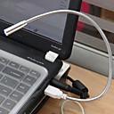 mlsled® istaknuti fleksibilan usb nehrđajućeg čelika vodio noćno čitanje knjige svjetlo za notebook laptop PC računalo itd