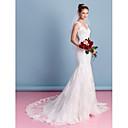 Lanting Bride® Sirena kroj Vjenčanica Srednji šlep Srcoliki izrez Til s Aplikacije