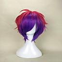 capless modni miks boju kratka kovrčava stranka vlasulja vrhunske kvalitete sintetička kosa perika čovjekov Cosplay perika