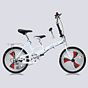 Folding bicikle Biciklizam 3 Brzina 20 inča Uniseks Odrasla osoba Dvostruka disk kočnica Vilica s oprugom Monocoque ObičanČelik