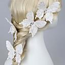 Žene Prodavačica cvijeća Tkanina Glava-Vjenčanje Special Occasion Pin kose 1 komad