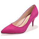 Žene Cipele na petu Jesen Udobne cipele Flis Ležerne prilike Stiletto potpetica Drugo Crna / Siva / Tamno crvena Others