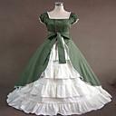 steampunk®navy plava gothic lolita haljina građanski rat južni Belle haljine