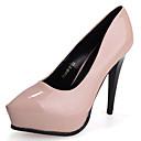 Žene Cipele na petu Ljeto Udobne cipele PU Ležerne prilike Stiletto potpetica DrugoCrna / Ružičasta / Ljubičasta / Crvena / Siva / Tamno
