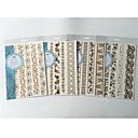 4 ks Papír 24cm*14cm*0.6cm Převod Paper