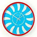 円形 コンテンポラリー 壁時計,その他 メタル 34*34*8