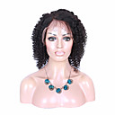 新しいスタイル100%ブラジルの人間の髪の毛のかつら完全なレースのかつら自然な黒色のブラック女性のためのファッション巻き毛のかつら