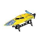 高速モーターボート WLTOYS WL911 レーシングボート RCボート ブラシ電気 4CH 2.4G プラスチック ホワイト レッド イエロー