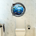 3D Zid Naljepnice Zidne naljepnice / 3D zidne naljepnice Dekorativne zidne naljepnice,PVC Materijal Odstranjivo Početna DekoracijaZid