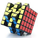 Magic Cube / Puzzle Toy IQ Cube Yongjun Five-layer Professional Level Smooth Speed Cube Magic Cube puzzleBlack / White