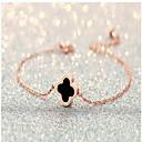 Narukvice Gipke i čvrste narukvice Legura Circle Shape / Ljubav Moda Vjenčanje Jewelry Poklon Zlatna,1pc