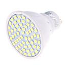 4 GU10 LED bodovky MR16 60 SMD 2835 350 lm Teplá bílá / Chladná bílá Ozdobné AC 220-240 V 1 ks
