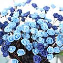 1 1 Une succursale Polyester Roses Fleur de Table Fleurs artificielles 50