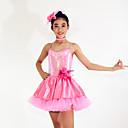 Žene / Dječji-Haljine- zaBalet(Pink,Spandex / Polyester / Šljokičasti,Kaskadno talasati / Paillettes / Cvijet (i) / Šljokice)