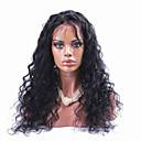 100% prirodni crna boja Brazilski djevičansko ljudska kosa kovrčava čipke sprijeda perika s baby kosu