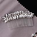 Žene Umjetno drago kamenje Glava-Vjenčanje / Special Occasion Hair Clip 1 komad