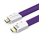 kbeh-l HDMI verze s vysokým rozlišením linie 2,0 postříbřené jádro ve 3D
