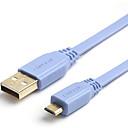 植えマイクロUSBタイプBケーブル高速金にchoseal USB2.0