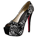 Women's Heels Spring / Summer / Fall Platform Fabric Party & Evening / Dress Stiletto Heel Others Silver / Gold Others