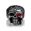 Prsten Nerez Skull shape Punkový styl Stříbrná Šperky Halloween Denní Ležérní Sport 1ks