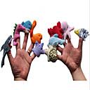 指人形 アイデアおもちゃ斬新さ玩具 おもちゃ アイデアジュェリー 恐竜 プラッシュ 虹色 / ブラウン / レッド / オレンジ 男の子向け / 女の子向け