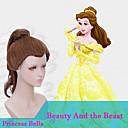 美しさと獣コスプレ姫ベラのかつらは自然な合成かつらを探してresiatantコスプレを加熱します