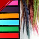 女性のための設定パーティーの装飾ファッションホット速い一時的なパステルカラーの髪の色素の色のチョーク6色/