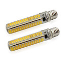 5W E17 LED svjetla s dvije iglice Cijev 136 SMD 5730 500 lm Toplo bijelo / Hladno bijelo V 2 kom.