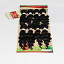 1 komad Wavy Isprepliće ljudske kose Brazilska kosa 180g 8 inch Proširenja ljudske kose
